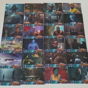 EUC Guardians of the Galaxy Collectible Cards